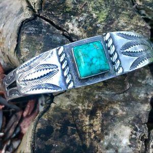Jewelry - Vintage Navajo cuff bracelet